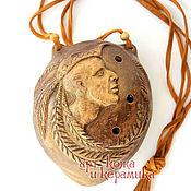 Музыкальные инструменты handmade. Livemaster - original item Shaman hand-made clay ocarina (tin whistle). Musical instrument. Handmade.