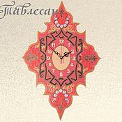 """Для дома и интерьера ручной работы. Ярмарка Мастеров - ручная работа Часы настенные """"Тайны Магриба"""" в восточном стиле в гостиную. Handmade."""