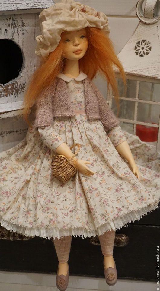 """Коллекционные куклы ручной работы. Ярмарка Мастеров - ручная работа. Купить Коллекционная авторская кукла """"Марийкино детство"""".. Handmade."""