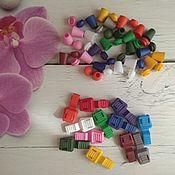 Шнуры ручной работы. Ярмарка Мастеров - ручная работа Концевик/наконечник для шнурка цвета mix. Handmade.