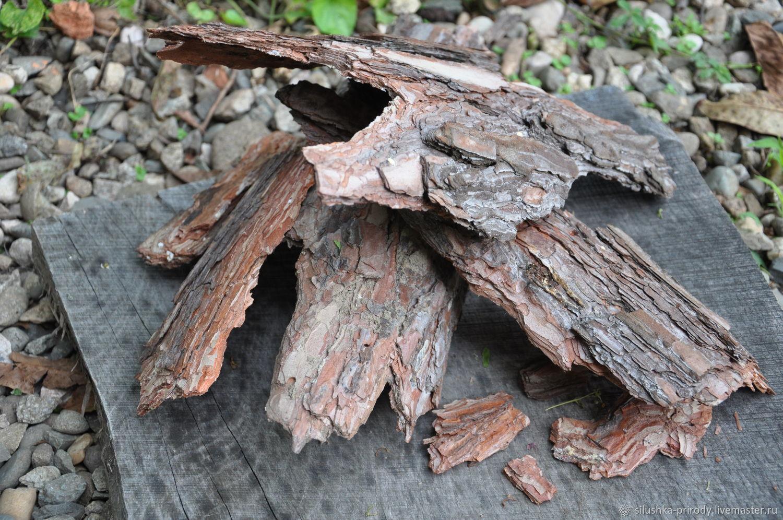 Кора сосны, Природные материалы, Апшеронск,  Фото №1