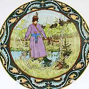 Русский стиль handmade. Livemaster - original item Porcelain collectible plate