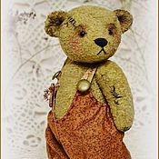 Куклы и игрушки ручной работы. Ярмарка Мастеров - ручная работа Ганс ( классический мишка Тедди, выкройка 1930 года). Handmade.