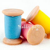 Материалы для творчества handmade. Livemaster - original item Silicone molds for soap, Spool of thread No. №2. Handmade.