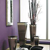 Для дома и интерьера handmade. Livemaster - original item Vases mirrored mosaic. Handmade.