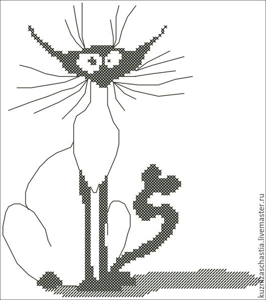 """Вышивка ручной работы. Ярмарка Мастеров - ручная работа. Купить Серия дизайнов """"Кошка"""", EXP, ART, PES, VP3, SEW. Handmade."""