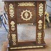 Для дома и интерьера ручной работы. Ярмарка Мастеров - ручная работа Каминный портал с резьбой, из массива дерева.. Handmade.