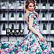 Платья ручной работы. Цветочное платье с вырезом на спине. Dudu-dress. Интернет-магазин Ярмарка Мастеров. Цветочный, платье, масло