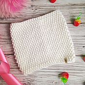 Работы для детей, handmade. Livemaster - original item Children`s knitted Snood