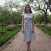Одежда ручной работы. Ярмарка Мастеров - ручная работа Платье цветущая вишня 2. Handmade.