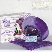Аксессуары handmade. Livemaster - original item Berets: Lavender bouquet.. Handmade.