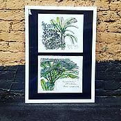 Картины и панно ручной работы. Ярмарка Мастеров - ручная работа Пальмы. Handmade.