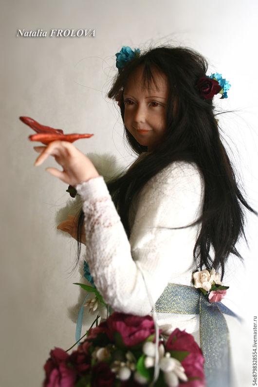 Коллекционные куклы ручной работы. Ярмарка Мастеров - ручная работа. Купить .. Куда уходит детство?... Handmade. Комбинированный, коллекционная кукла