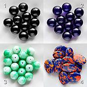 Материалы для творчества handmade. Livemaster - original item Beads agate. Handmade.