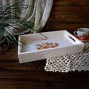 Для дома и интерьера handmade. Livemaster - original item Tray