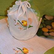 Для дома и интерьера handmade. Livemaster - original item Bag cake cloth