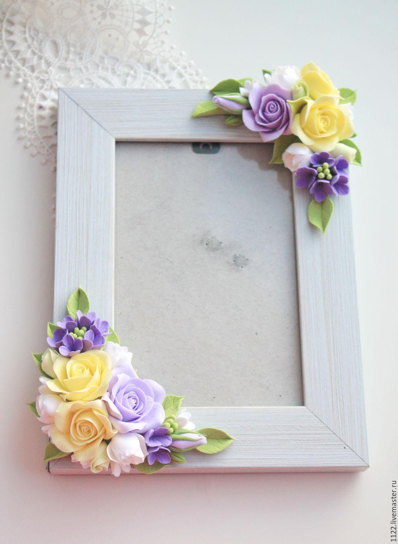 Рамку для фото своими руками из полимерной глины