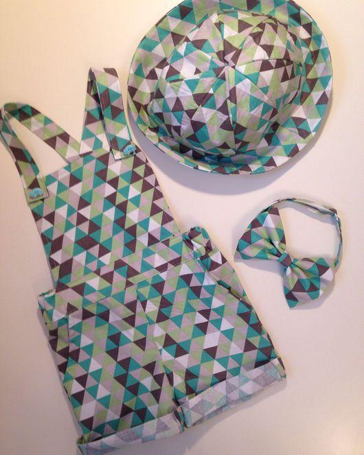 """Одежда для мальчиков, ручной работы. Ярмарка Мастеров - ручная работа. Купить Familylook для мамы и сына """"Треугольники"""". Handmade. Family look"""