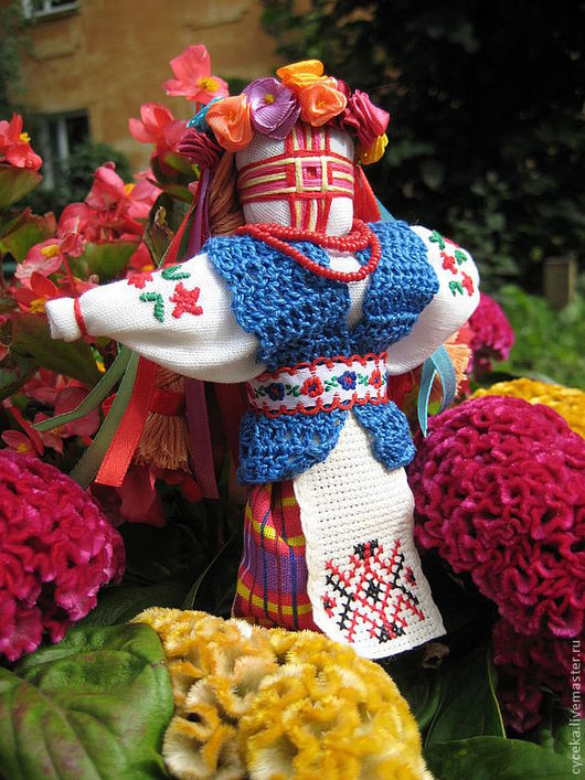 """Народные куклы ручной работы. Ярмарка Мастеров - ручная работа. Купить Украинская узелковая кукла (мотанка) """"Лето"""". Handmade. радость"""