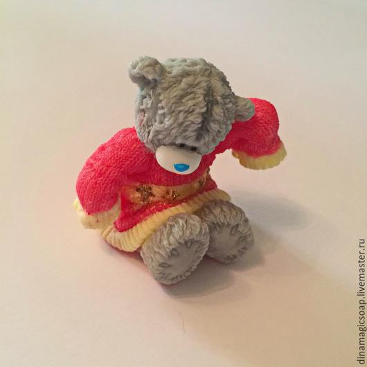 Мыло ручной работы. Ярмарка Мастеров - ручная работа. Купить Мыло Мишка в  свитере. Handmade. Разноцветный, мыло в новокузнецке