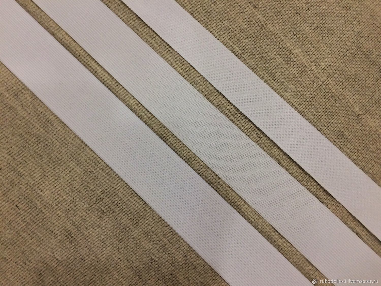 Резинка 30-40-45мм №6 тесьма эластичная плоская, Материалы, Балашиха, Фото №1