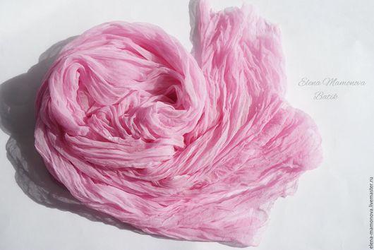 Шарфы и шарфики ручной работы. Ярмарка Мастеров - ручная работа. Купить Шарф батик Зефир, шелковый шарф батик. Handmade.
