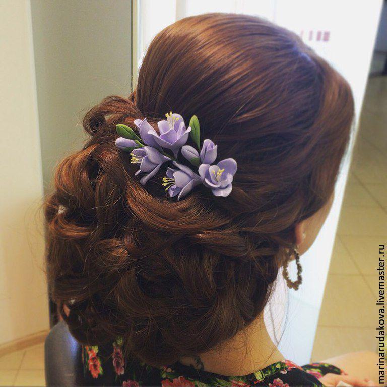 Цветы для причёски купить