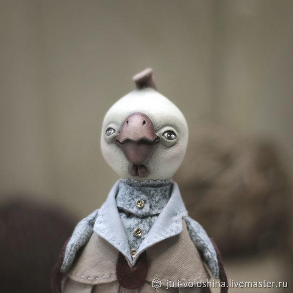 Кукла авторская мягкая петушок Пантелей, Куклы и пупсы, Челябинск,  Фото №1