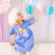 Одежда handmade. Livemaster - original item Children`s felted dress