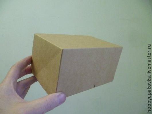Упаковка ручной работы. Ярмарка Мастеров - ручная работа. Купить Коробка 10х15х8,5 см. Handmade. Крафт коробка