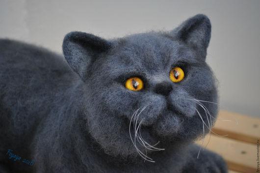 Игрушки животные, ручной работы. Ярмарка Мастеров - ручная работа. Купить Британский кот Дункан. Handmade. Британский кот, игрушка