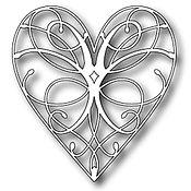 Материалы для творчества ручной работы. Ярмарка Мастеров - ручная работа Memory box La Rue Heart. Handmade.