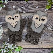 Аксессуары handmade. Livemaster - original item Suroweicki owl feather baby. Handmade.