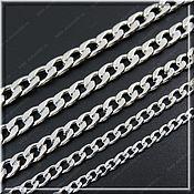 Украшения handmade. Livemaster - original item Chain steel no. 5 length 61 cm and 70 cm width 5 -10 mm.. Handmade.