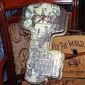 Для дома и интерьера ручной работы. Ярмарка Мастеров - ручная работа Ключница-часы Сказки старого города. Handmade.