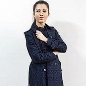 Одежда handmade. Livemaster - original item Trench coat of textured fabric