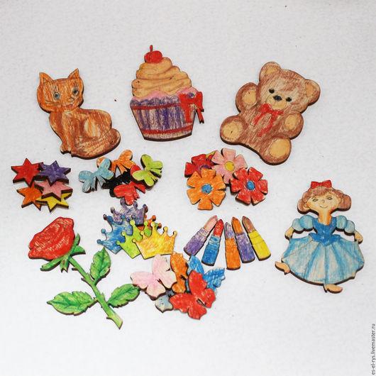 """Подарочные наборы ручной работы. Ярмарка Мастеров - ручная работа. Купить Детский набор для раскраски """"Принцесса"""". Handmade. Бежевый"""
