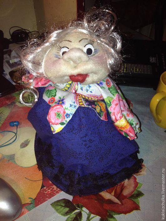 Коллекционные куклы ручной работы. Ярмарка Мастеров - ручная работа. Купить кукла-попик. Handmade. Бежевый, чулочная техника, попик