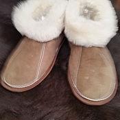 Обувь ручной работы. Ярмарка Мастеров - ручная работа Чуни из натуральной овчины. Handmade.