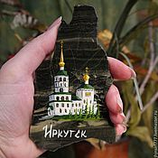 Сувениры и подарки handmade. Livemaster - original item Wholesale magnet of stone Temple Magnet stone series City. Handmade.
