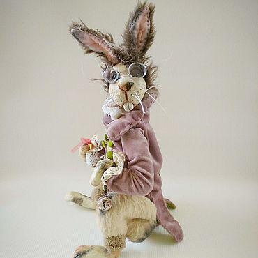 Dolls & toys handmade. Livemaster - original item Doll: The March hare. Handmade.