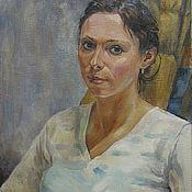 Картины и панно ручной работы. Ярмарка Мастеров - ручная работа Портрет маслом. Handmade.
