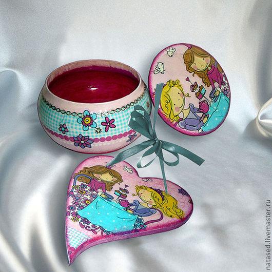 Персональные подарки ручной работы. Ярмарка Мастеров - ручная работа. Купить Принцессы. Handmade. Детский подарок, подарок девочке, розовый
