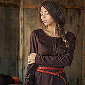"""Одежда ручной работы. Ярмарка Мастеров - ручная работа Платье """" Шоколадная ночь"""". Handmade."""