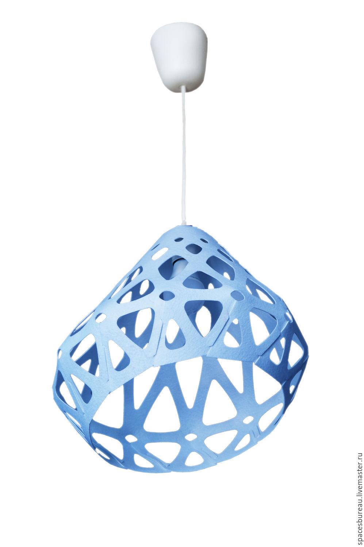 ZAHA LIGHT blue ceiling pendant lamp, Chandeliers, St. Petersburg,  Фото №1