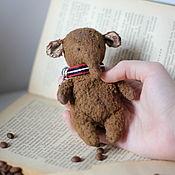 Куклы и игрушки handmade. Livemaster - original item Elephant Teddy pocket. Handmade.