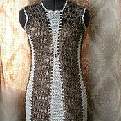Одежда ручной работы. Ярмарка Мастеров - ручная работа Платье в стиле Гетсби 46. Handmade.