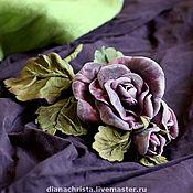 """Украшения ручной работы. Ярмарка Мастеров - ручная работа Брошь-колье""""...Как свежи были розы"""".. Handmade."""