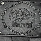 Классическая сумка ручной работы. Ярмарка Мастеров - ручная работа Подсумок  кожаный BORN TO RIDE. Handmade.