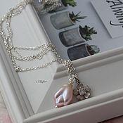 Украшения handmade. Livemaster - original item Chain with a pearl